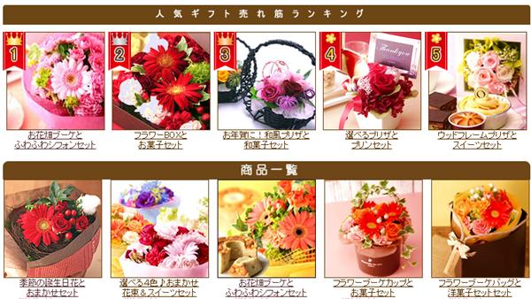 お菓子と花のセット売れ筋ランキング.png